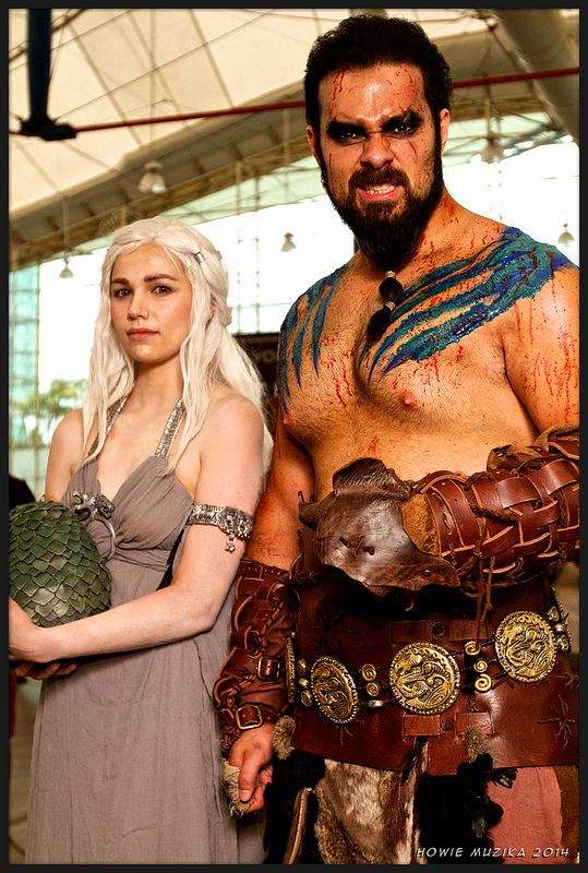 Drago and khaleesi