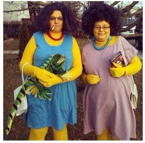 Marge simpson sisters