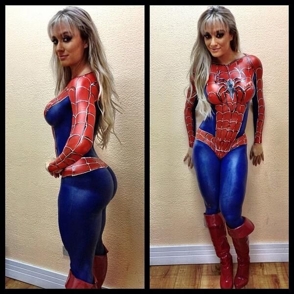 Spider-girl sexy